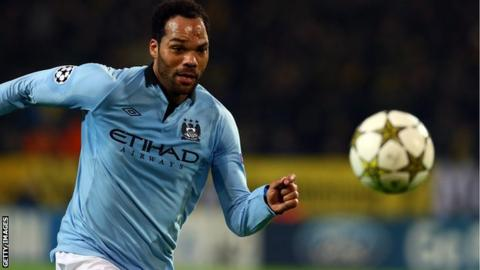 Joleon Lescott of Manchester City