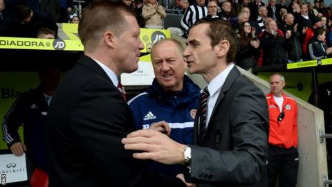 Gary Locke and Danny Lennon