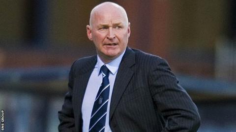 Former Rangers defender John Brown