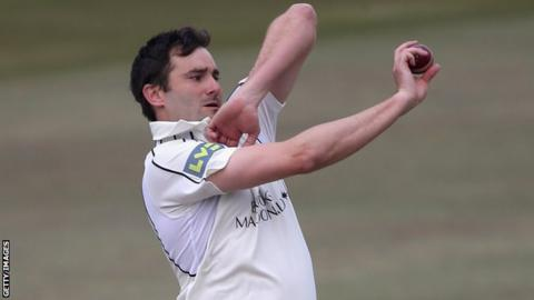 Middlesex seamer Tim Murtagh