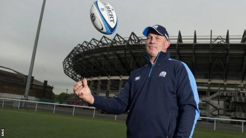 New Scotland head coach Vern Cotter