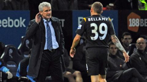 Reunited with Mark Hughes at Man City, 09/10 season