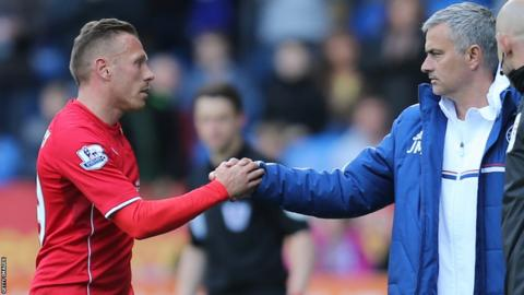 Bellamy's final appearance against Chelsea in 2013/14 season