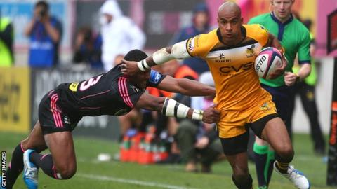 London Wasps' Tom Varndell