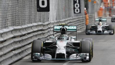 Nico Rosberg wins the Monaco GP
