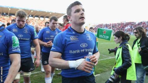 Leinster centre Brian O'Driscoll