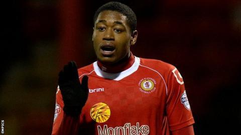 Crewe Alexandra top scorer Chuks Aneke