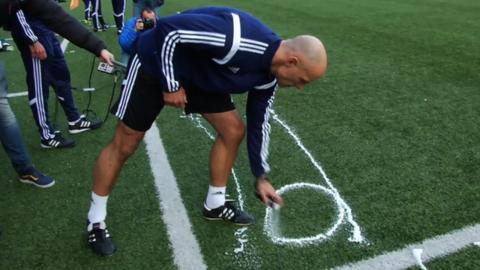 World Cup referees get vanishing spray lessons ahead of Brazil