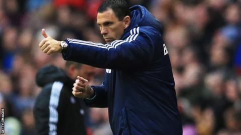 Sunderland manager Gus Poyet.