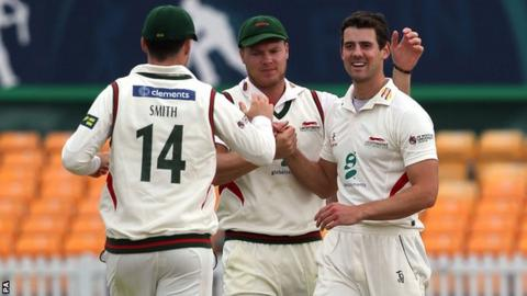 Leicestershire and Scotland bowler Rob Taylor