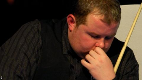 Banned snooker player Stephen Lee