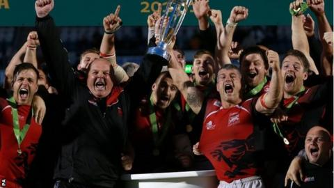 London Welsh celebrate