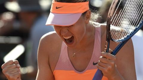 French Open 2014: Maria Sharapova 'happy & proud' of win