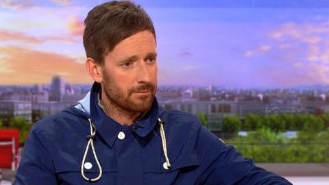 Sir Bradley Wiggins speaking on BBC Breakfast