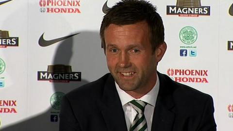 Ronny Deila gives his first Celtic press conference