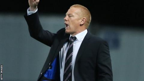 Norwich City first team coach Gary Holt