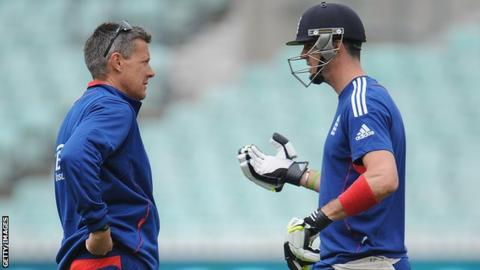 Former England batsman Kevin Pietersen and ex-limited overs coach Ashley Giles