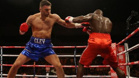 Nathan Cleverly and Shawn Corbin