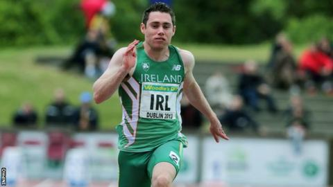 Jason Smyth in action for Ireland in last year's European Team Championships meeting in Dublin