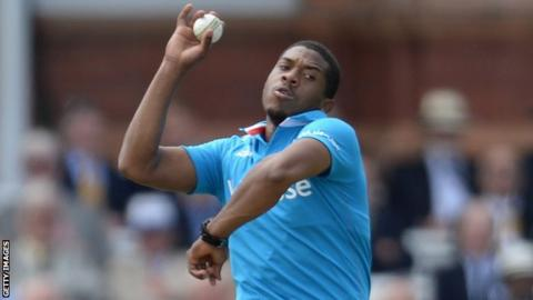 Sussex and England fast bowler Chris Jordan