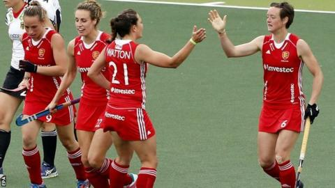 England beat Germany at Hockey World Cup