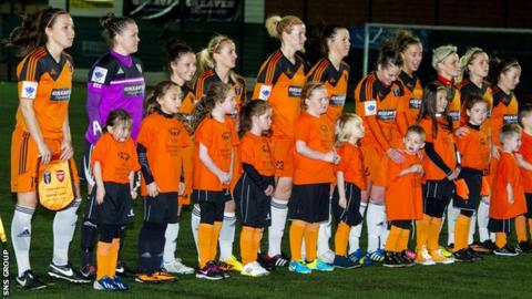 Glasgow City reached the round of 16 in last season's Champions League