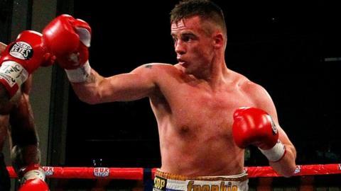 British and welterweight champion Frankie Gavin