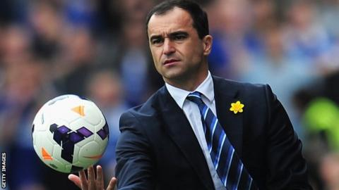 Roberto Martinez succeeded David Moyes at Goodison Park last summer