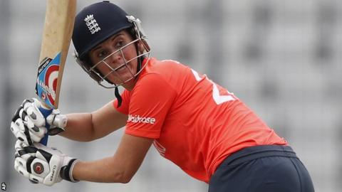 Charlotte Edwards of England