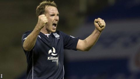 Dundee defender Gary Irvine