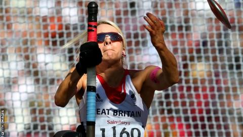 Paralympic champion Josie Pearson