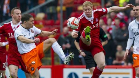 Aberdeen v Dundee United