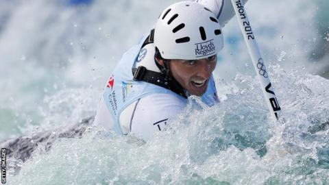 David Florence of Great Britain