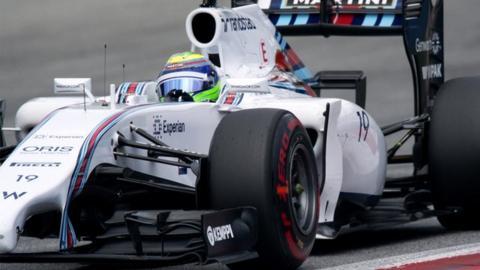 Austrian GP qualifying highlights: Felipe Massa claims shock pole for Williams