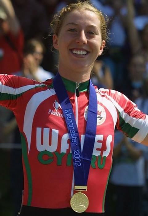 Manchester 2002: Future Olympic champion Nicole Cooke won gold in the women's road race.