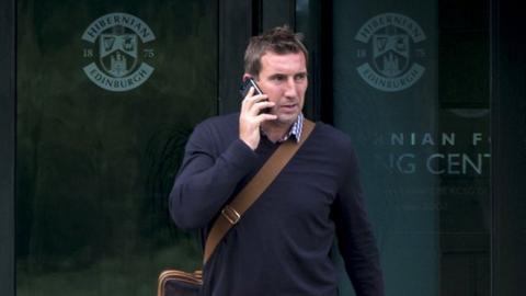 New Hibernian manager Alan Stubbs