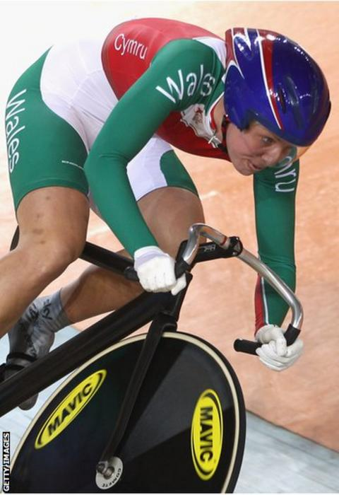 Delhi 2010: Becky James won Wales only cycling medals in Delhi, with silver and bronze.
