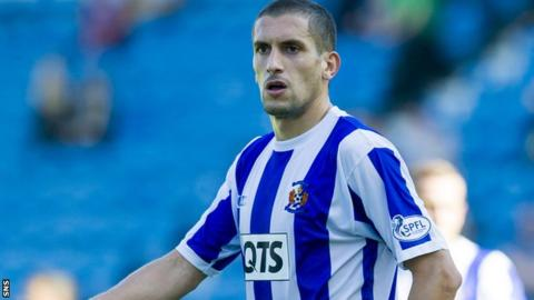 Ismael Bouzid has joined Rangers on trial following a season with Kilmarnock