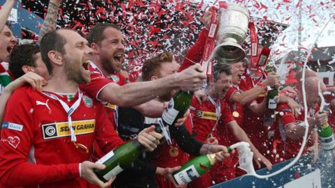Cliftonville are the current champions of the Irish Premiership