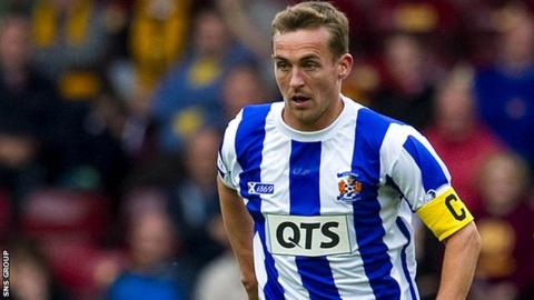 James Fowler was a League Cup winner with Kilmarnock in 2012