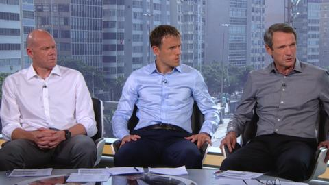 MOTD pundits Brad Friedel, Phil Neville and Alan Hansen react to Luis Suarez's ban