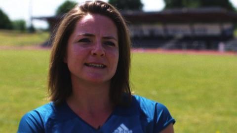 British javelin thrower Goldie Sayers tells BBC Sport about her injury nightmare