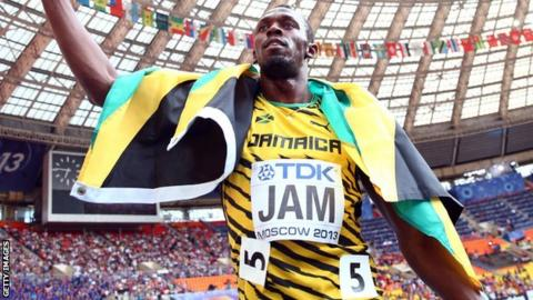 Usain Bolt of Jamaica