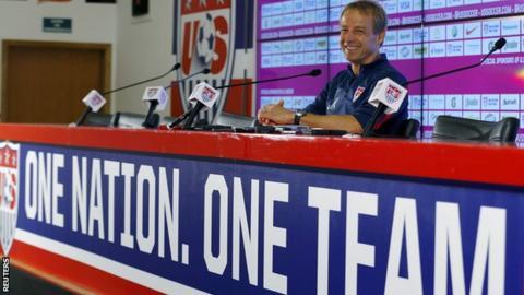 USA manager Jurgen Klinsmann