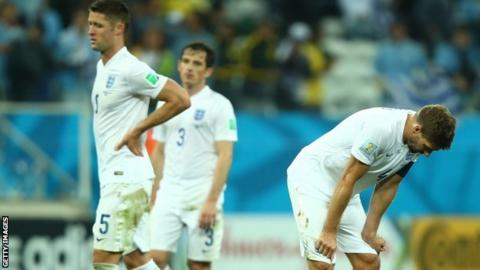 England suffer World Cup disappointment