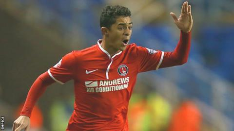 Cameron Stewart in action for Charlton