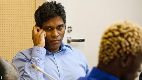 Wilson Raj Perumal, the convicted match-fixer