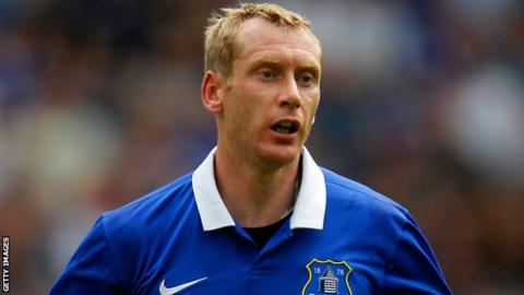 Tony Hibbert of Everton