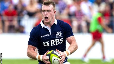 Hogg won his 24th Scotland cap in Saturday's loss to South Africa
