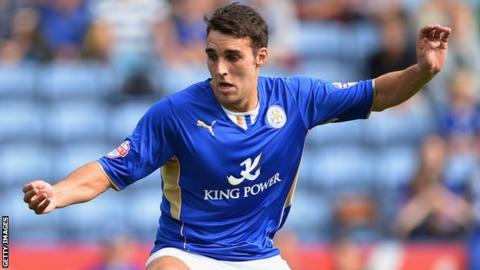 Leicester City midfielder Matty James